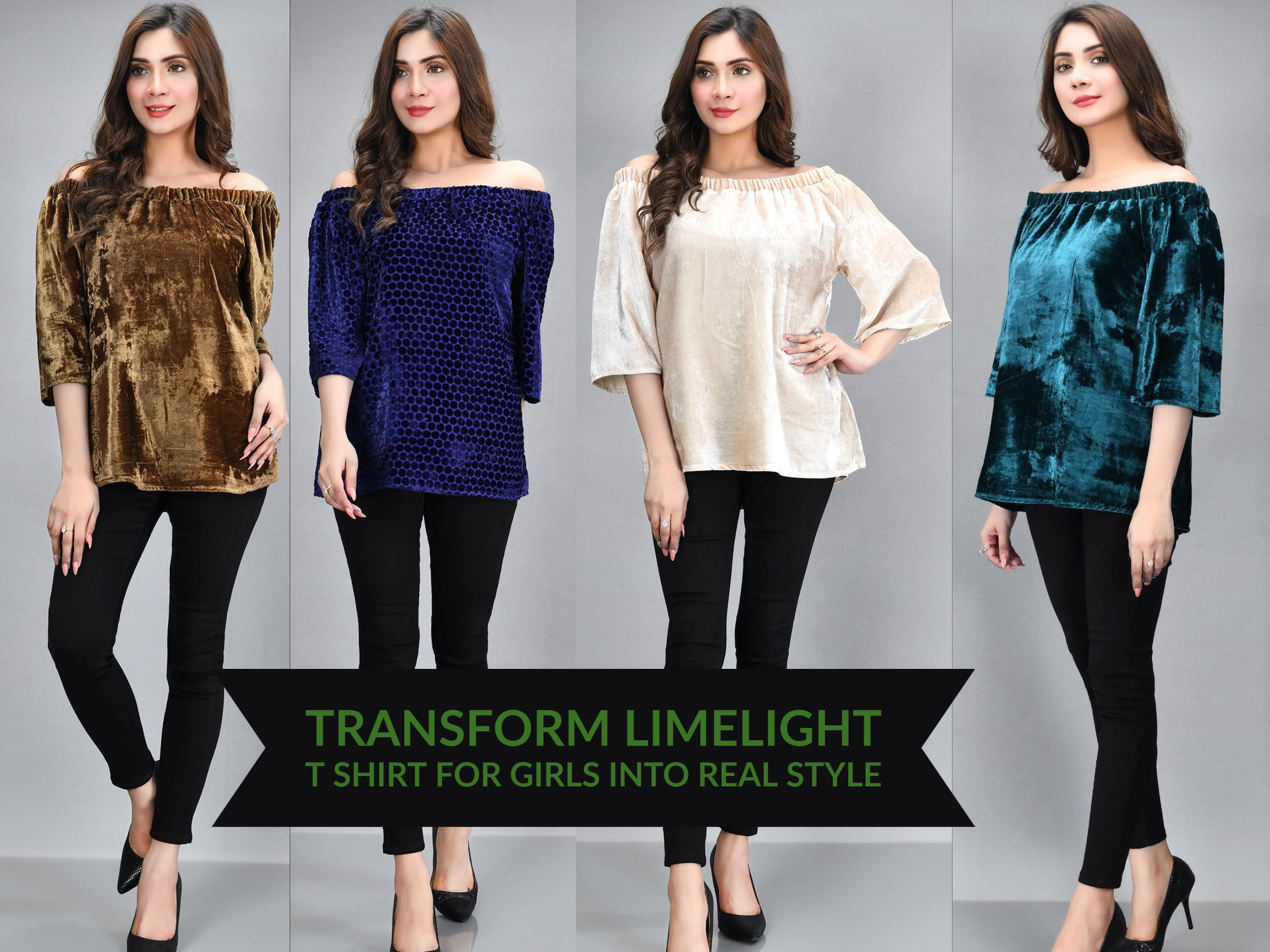 Transform Limelight T Shirt For Girls Into Real Style
